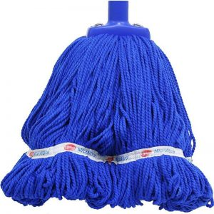 Sabco 350GM round microfibre mop blue