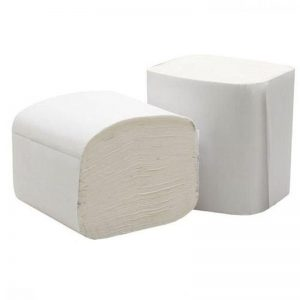 Interleaved 2 Ply toilet tissue