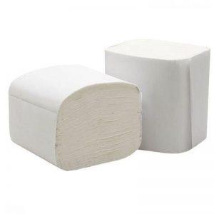 Interleaved 2 Ply toilet tissue